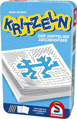 Schmidt Spiele Reisespiel Aktions- & Geschicklichkeitsspiele Kritzeln 51413
