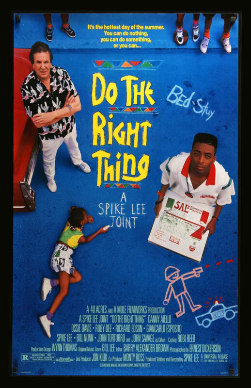 DO THE RIGHT THING REPLICA 1989 MOVIE POSTER
