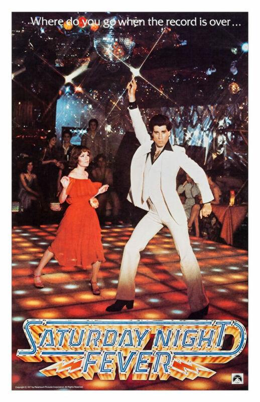 SATURDAY NIGHT FEVER REPLICA 1977 MOVIE POSTER