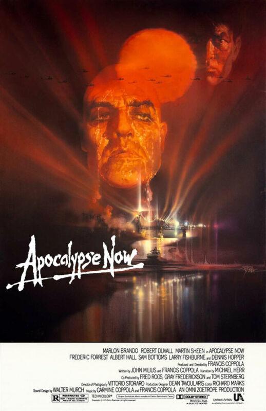 APOCALYPSE NOW REPLICA 1979 MOVIE POSTER