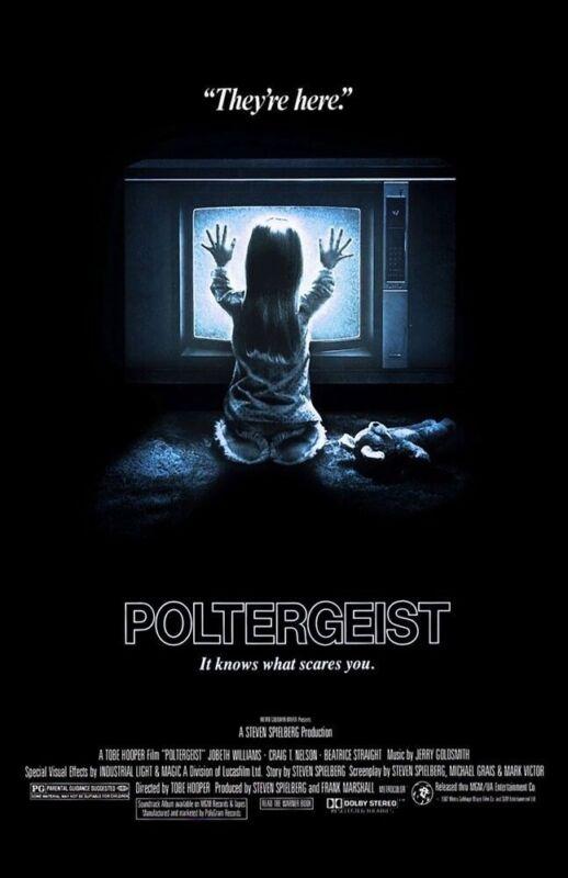 POLTERGEIST 1982 REPLICA MOVIE POSTER