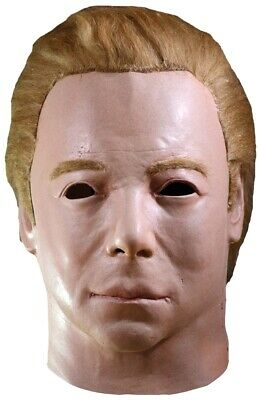 Captain Kirk Mask William Shatner Star Trek 1975 Latex Michael Myers