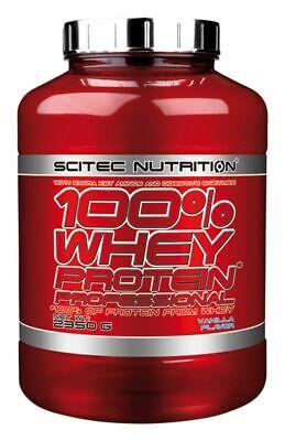 Scitec Nutrition 100 Whey Protein Professional 2350g Eiweiß Shake mit zus. BCAAs