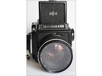 Mamiya 645 – 1000S Medium Format Camera and 80mm Sekor prime lens