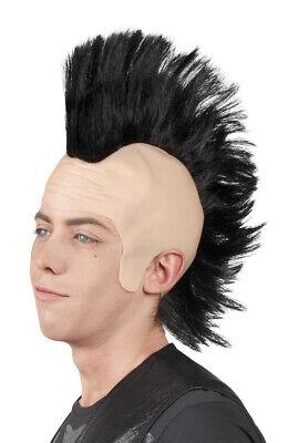 ke Punker mit Glatze Irokesenschnitt (Glatze Perücke)