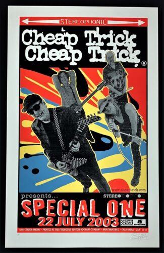 Cheap Trick POSTER Special One Silkscreen Firehouse Chuck Sperry Artist Proof