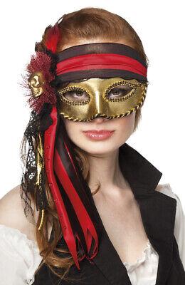 Luxus Augenmaske Piraten-Maske Venezianische Augenmaske  TOP Qualität - Venezianische Piraten Maske