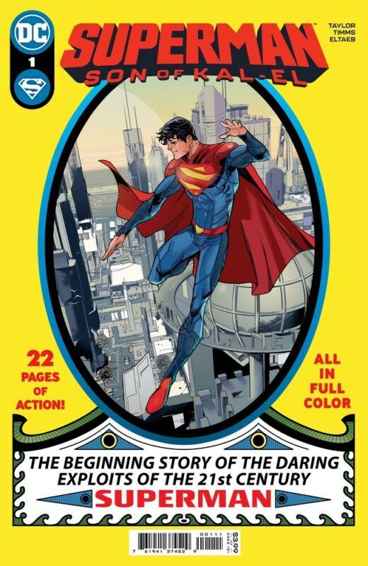 SUPERMAN SON OF KAL-EL #1 - John Timms Cover A - NM - DC Comics - Presale 07/27