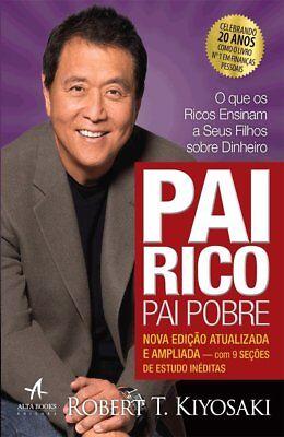LIVRO PAI RICO PAI POBRE Robert Kiyosaki Rich Dad Poor Dad PORTUGUES PORTUGUESE comprar usado  Brazil