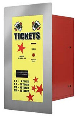 American Changer Ac125 Ticket Dispenser Rear Load Holds Up To 4000 Tickets