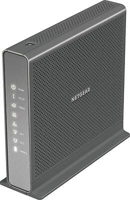 Netgear   Nighthawk Dual Band Ac1900 Router With Docsis 3 0 Cable Modem   Black