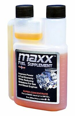 - CleanBoost® Maxx™ 08oz Fuel Treatment for Gas & Diesel Fuel - Treats 240 Gallons