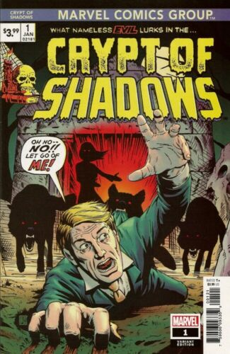 MARVEL COMICS - CRYPT OF SHADOWS #1 - RETRO VINTAGE VARIANT - BRAND NEW