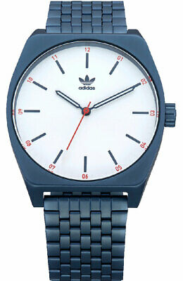 Adidas Process M1 38mm Stainless Steel Watch Navy Z023032-00