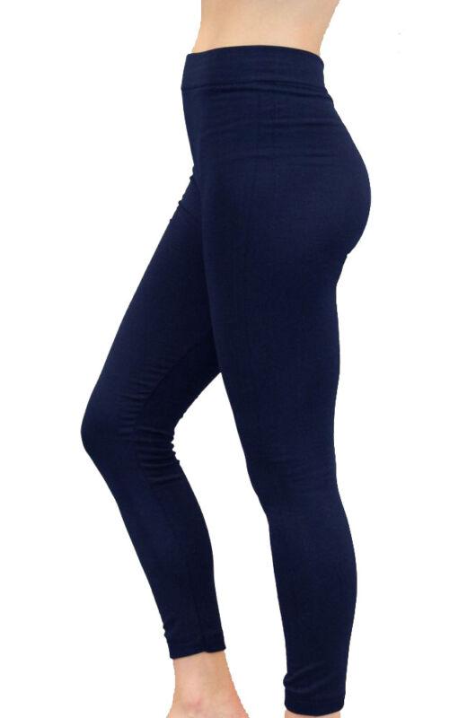 93a600002535c NEW WOMEN LADIES FLEECE LEGGINGS THICK WINTER THERMAL LEGGING LINING SIZE 8- 18 | Main