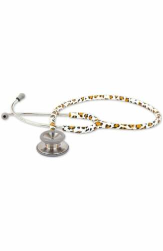 """Adscope L.E. Adult Stainless Steel Stethoscope 31"""" Cheeta  NEW in BOX"""
