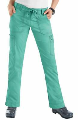 New koi STRETCH Women's Scrub/Unifrom TALL Slim Fit Mint Pants #710   XS TO -