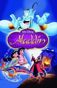 K 11 Poster Walt-Disneys-ALADDIN-movie-poster-print-11-x-17-inches-ALADDIN-poster