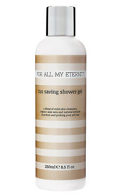 For All My Eternity Tan Saving Shower Gel Body Wash - BEST Fake Tanning