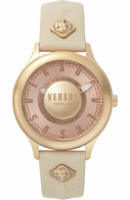 Versus by Versace VSP410318 Tokai rose gold beige Leather Women's Watch