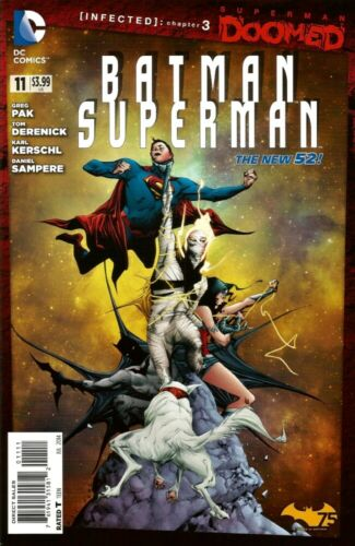 DC COMICS - BATMAN SUPERMAN 11 DOOMED - BRAND NEW - NEW 52