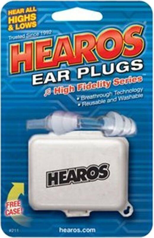 Hearos High Fidelity Ear Plugs No. 211