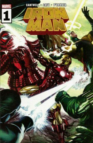MARVEL COMICS - IRON MAN #1 - BRAND NEW - 2020 - ALEX ROSS