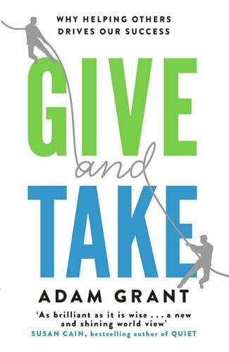 Give and Take: Why Helping Others Drives Our Success pdf book free shipping