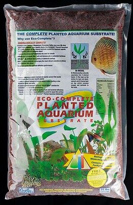 Caribsea Eco-Complete Red 20 lbs Planted Aquarium Freshwater Substrate