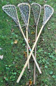 Wanted! Wooden lacrosse sticks - Any quantity & any condition! Gatineau Ottawa / Gatineau Area image 2