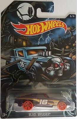 Halloween 5 Car Chase (Hot Wheels - 2016 Happy Halloween 5/8 Blvd Bruiser)