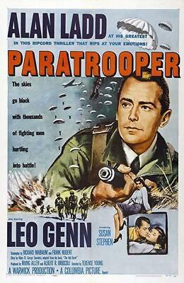 The Red Beret AKA Paratrooper (1953) - Alan Ladd  DVD - The Red Beret Movie