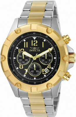 Invicta Specialty 13616 Men's Round Black Chronograph Date Analog Watch