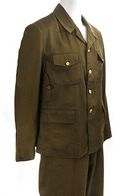 WW2 Japanese Officers Type 98 Tropical Uniform Size M