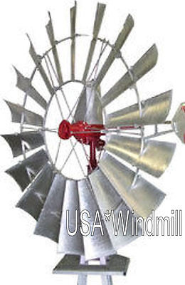 (X702 USA*Windmill 6ft Windmill with 21ft Tower, FREE SHIPPING)