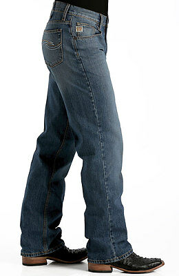 CINCH Men's HAYES Stonewash Relaxed Fit Straight Leg Jeans MB98934001 -IND (Cinch Relaxed Fit Jeans)