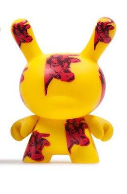 kidrobot Andy Warhol Dunny Series 2 Vinyl Mini Figure - Cow -New
