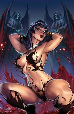 Vampirella Trial of The Soul One Shot Hanahan Comics Exclusive Ale Garza Virgin