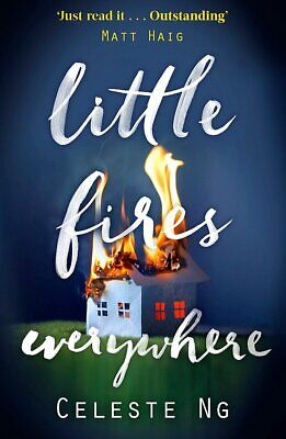 LITTLE FIRES EVERYWHERE BY CELESTE NG E  Book - FAST DELIVERY