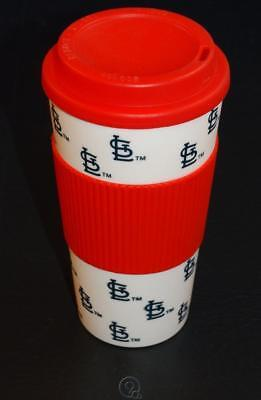 Baseball Plastic Cups (MLB Baseball St.Louis Cardinals 16 oz Hot/Cold Plastic Tumbler Travel Coffee)