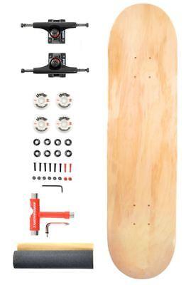 """Venom Complete Pro Skateboard  ABEC 11/52mm Wheels-Natural Deck 8""""/Black Trucks"""