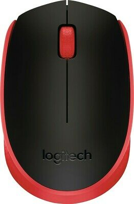 Logitech - Mouse - Red