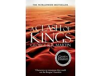 A Clash of Kings (A Song of Ice and Fire, Game of Thrones: Book 2) - Brand new, unread paperback £5