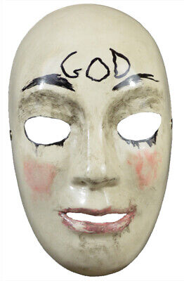 THE PURGE ANARCHY GOD KILLER ELECTION YEAR TRICK OR TREAT COSTUME MASK HORROR