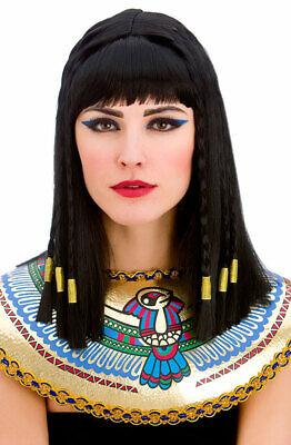 Ägyptische Cleopatra Perücke NEU - Karneval Fasching Perücke - Ägyptische Perücken