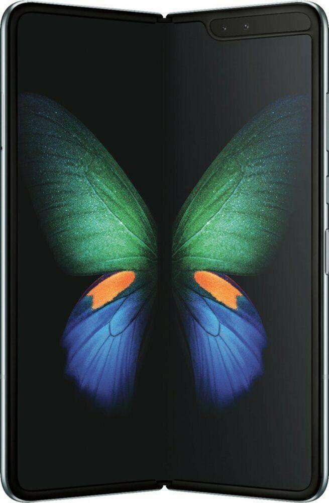 Samsung Galaxy FOLD SM-F900U Space Silver🔓Unlocked✅AT&T✅Verizon✅T-Mobile D.P#07