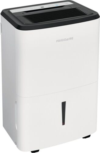 Frigidaire 22-Pint Dehumidifier with Effortless Humidity Control, White