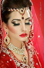 Asian Indian Pakistani Sikh Bengali Bridal Wedding Party Graduation Prom Hair And Makeup Artist