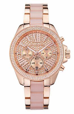 Michael Kors MK6096 Wren Women's Watch - Rose Gold