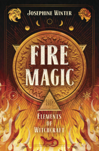 FIRE MAGIC BOOK Elements of Witchcraft Guidebook elemental witch craft wicca